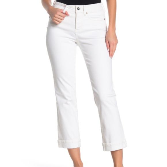 NYDJ Pants - NYDJ White Sheri Slim Leg Jeans